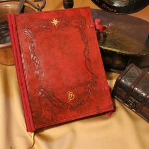 05 - Libro rosso di Bilbo - Signore degli anelli copertina