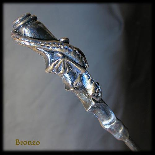 drago piccolo bronzo