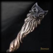 lupo bronzo