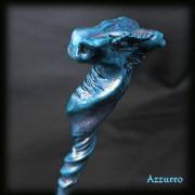 testa drago azzurro